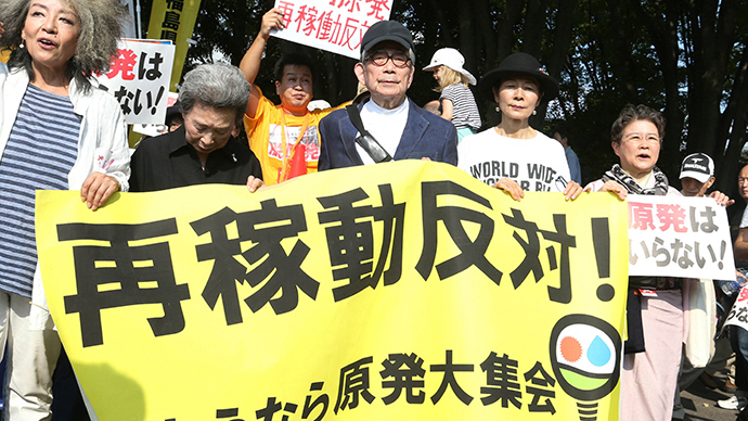 'What's your anti-disaster plan?' Thousands protest Japanese nuclear revival
