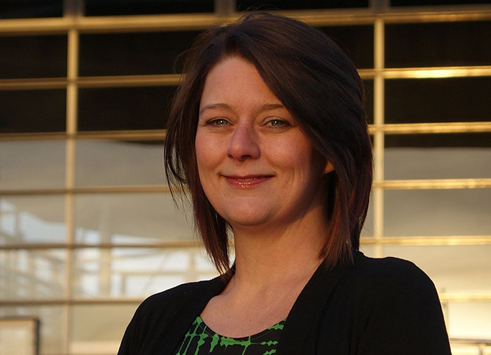 Leanne Wood AM, is a Welsh politician and the leader of Plaid Cymru (Image from wikipedia.org)