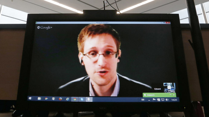 'Alternative Nobel' human rights award goes to Snowden