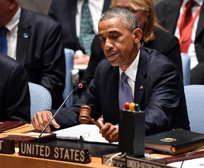 US President Barack Obama (AFP Photo/Timothy A. Clary)