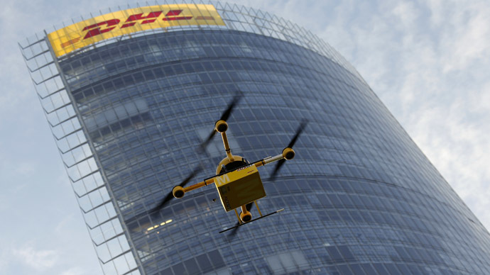 DHL deploys 'parcelcopter' drone for drug deliveries to remote German island (PHOTOS)