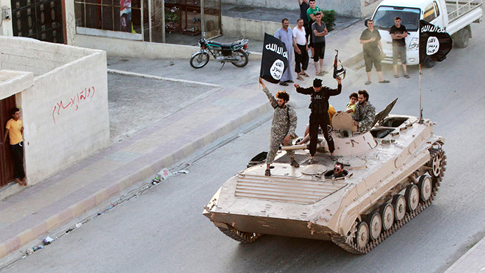 ISIS fighters (Reuters / Stringer)