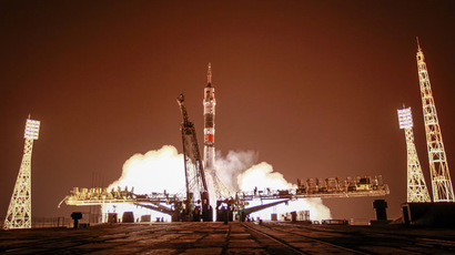 ISS crew lands, brings space-born flies to Earth