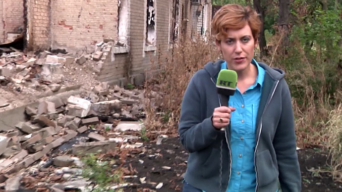 Bias and death threats on E.Ukraine frontline