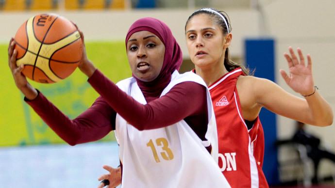 Qatari women's basketball team quits Asian Games over hijab row