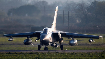 The Russians are coming! UK media hypes up RAF interception of Latvian plane