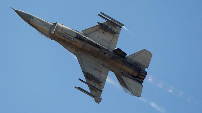 A F-16 jet fighter.(Reuters / Ivan Alvarado)