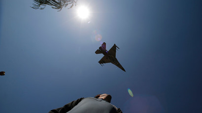 A F-16 jet fighter.(Reuters / Ivan Alvarado)