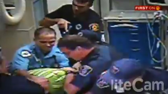 Pittsburgh cops sued for Tasering man grieving over step-son's body (VIDEO)