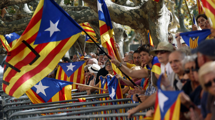 Catalonia president orders independence referendum on Nov. 9