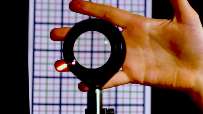 Like Harry Potter's? 3D 'invisibility cloak' unveiled by NY scientists (VIDEO)