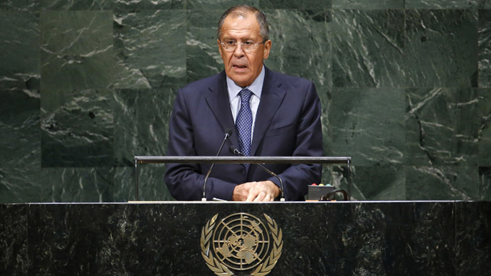 Lavrov: Western bloc headed by Washington rejects UN principle that all states are equal