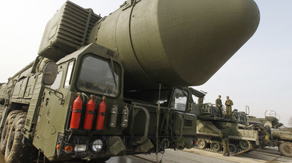 Russia's deployed nuclear capacity overtakes US for first time since 2000