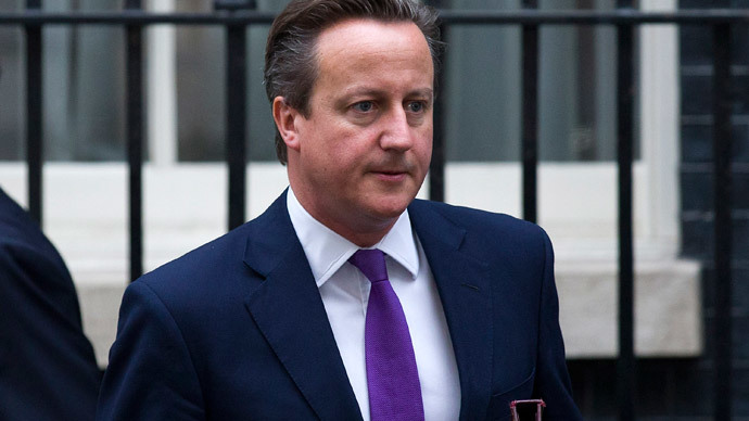Britain's Prime Minister David Cameron.(AFP Photo / Justin Tallis)