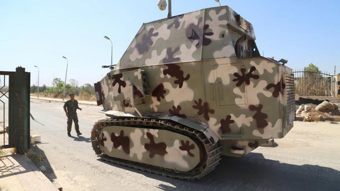 The amazing (and bizarre) homemade Kurdish armor fighting ISIS in Syria
