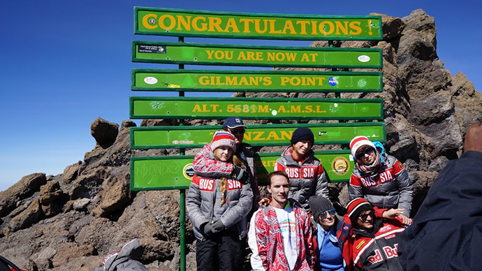 Terrifying, inspirational: RT documents disabled orphans' Kilimanjaro climb