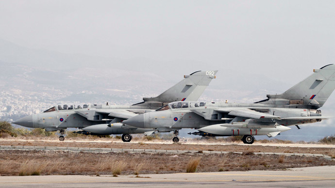 RAF jets fly armed missions over Iraq – but bomb no ISIS targets