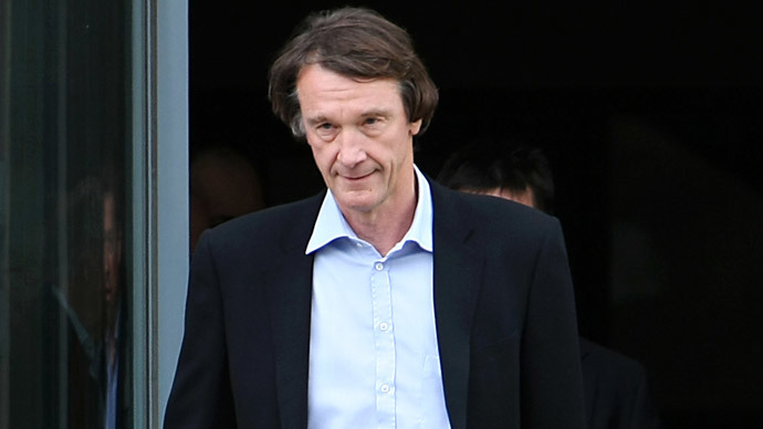 Jim Ratcliffe.(AFP Photo / Ed Jones)