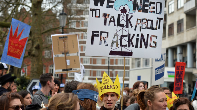UK fracking firm accused of 'bribing' land and property owners