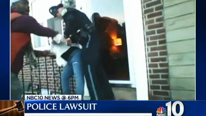 Cops sued for breaking into home, arresting woman for recording their actions (VIDEO)
