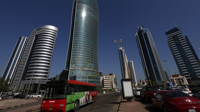 A view of the commercial center on Martyrs street in Kuwait city. (Reuters/Jamal Saidi)