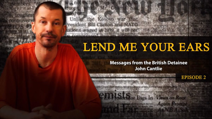 British hostage in new ISIS propaganda video panning Obama strategy