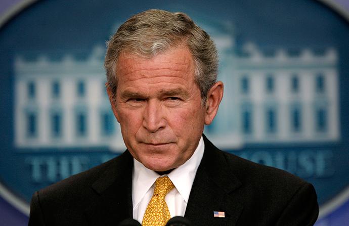 George W. Bush (Reuters / Kevin Lamarque)