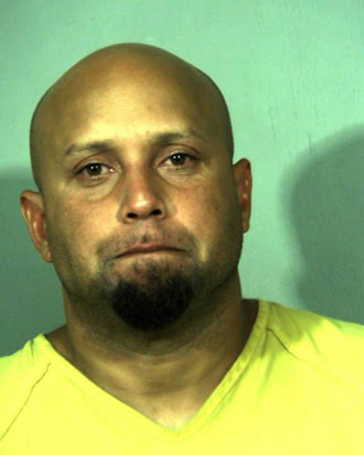Alleged White House fence jumper Omar Gonzalez, September 23, 2014. (Reuters/New River Regional Jail)