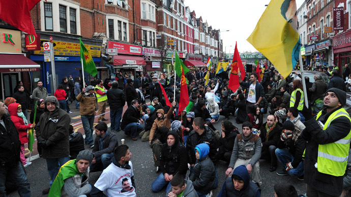 ​UK Kurds begin hunger strike, demand heavy weapons for ISIS fight