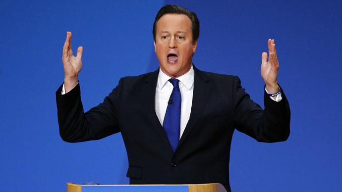Cameron defies critics, says EU referendum won't harm UK economy