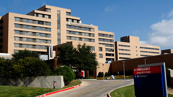 A general view of Texas Health Presbyterian Hospital in Dallas, Texas October 1, 2014 (Reuters / Mike Stone)