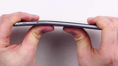 Sabotage or coincidence? Bent iPhone billboards spotted amid #bendgate hype