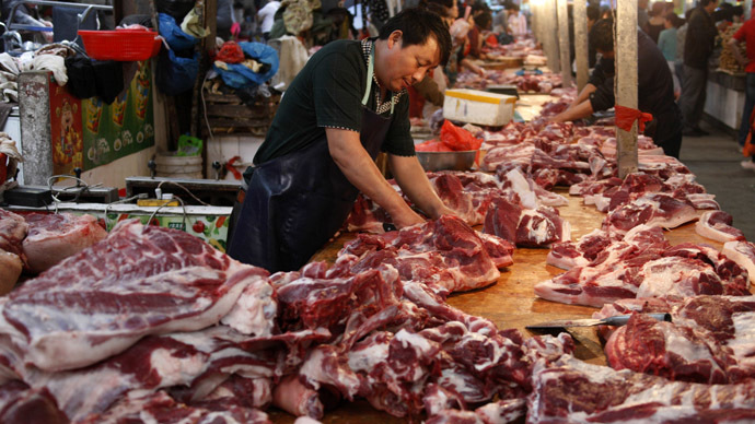 China resumes pork deliveries to Russia after 10-yr hiatus