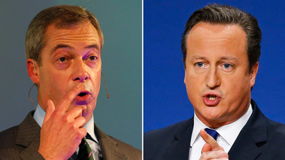 UKIP's Farage invited to election debate, snubbed Green Party considers legal action