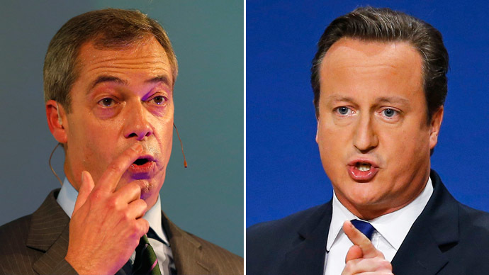 Banking on Farage: Donor pledges £1m to UKIP after Tory snub