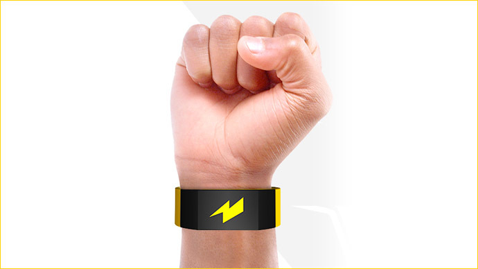 Zap out of it! Wristband gives shocks to break bad habits