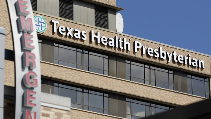 100 people were in contact with Dallas Ebola patient – health officials