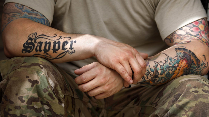 c2f70edfd Inked brigade: UK Army lifts ban on hand & neck tattoos — RT UK News