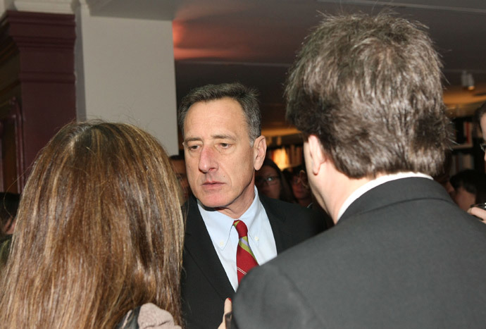 Governor Peter Shumlin (Bennett Raglin / Getty Images for ELLE / AFP)
