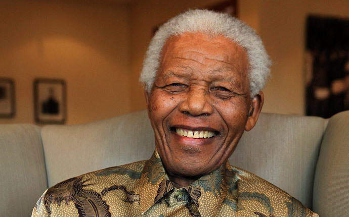 A photo taken on August 25, 2010 shows former South Africa's President Nelson Mandela (AFP Photo / Nelson Mandela Foundation Photo / Debbie Yazbek)