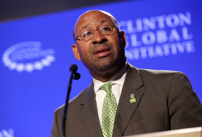 Mayor Michael Nutter of Philadelphia (Jemal Countess / Getty Images / AFP)