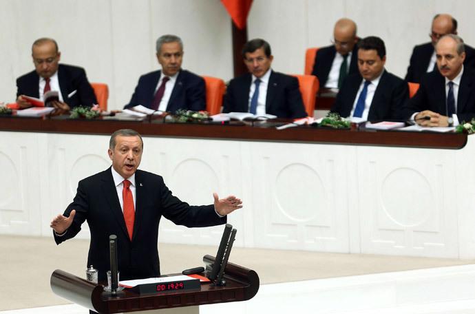 Turkey's President Recep Tayyip Erdogan (AFP Photo / Adem Altan)