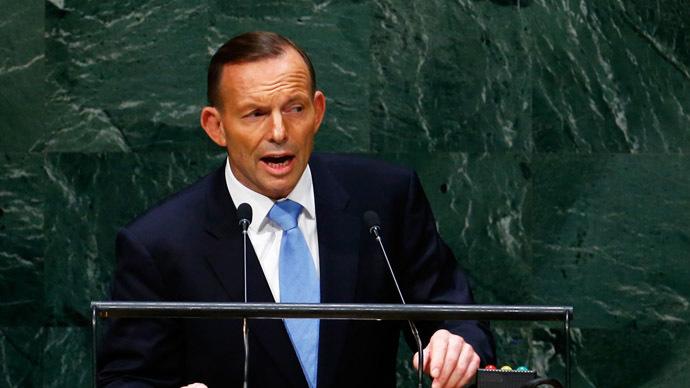 Tony Abbott, Prime Minister of Australia. (Reuters/Lucas Jackson)