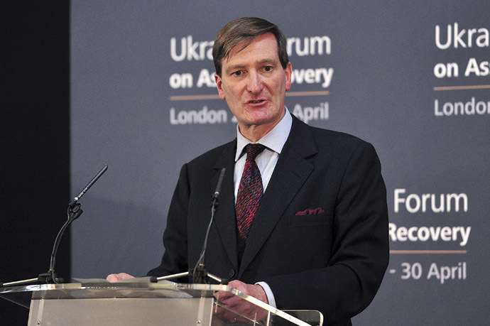 Former UK Attorney General and Tory MP, Dominic Grieve. (Reuters/Carl Court)