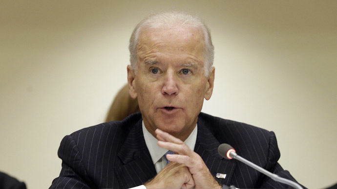 Vice President of the U.S. Joe Biden. (Reuters/Andrew Gombert)