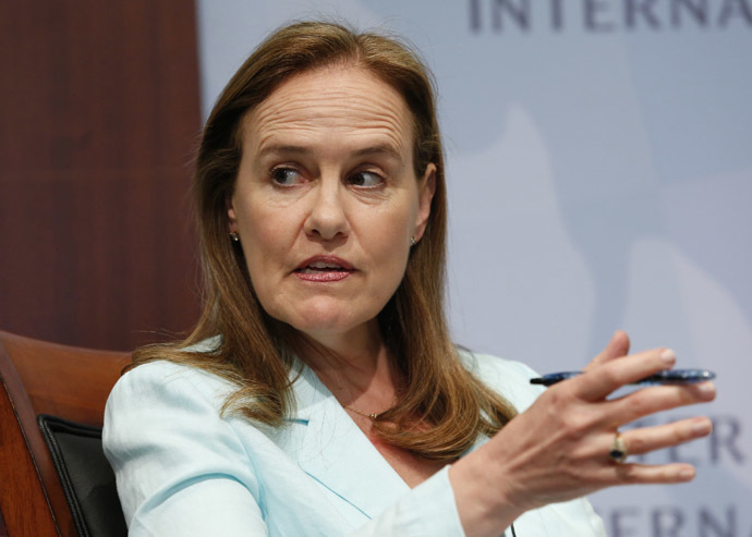 Former Defense Undersecretary for Policy Michele Flournoy. (Reuters/Yuri Gripas)