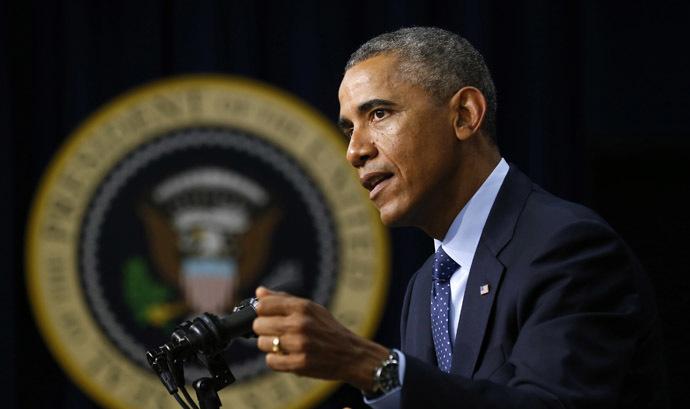 U.S. President Barack Obama. (Reuters/Kevin Lamarque)