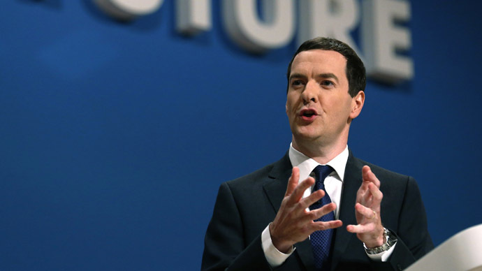 UK Chancellor Osborne attacks 'anti-free-market movement'