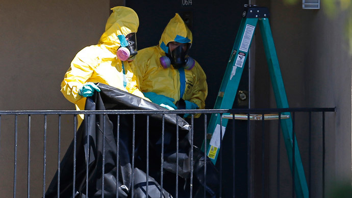 ​Dallas damage control: Ebola-positive man possibly infected 10 in Texas