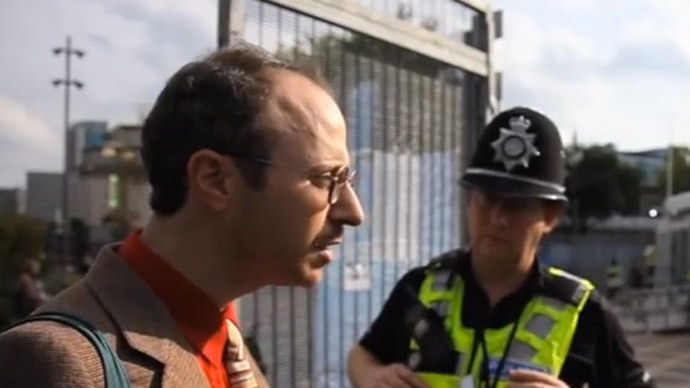 Peering through the fence at £800-a-ticket Tory conference